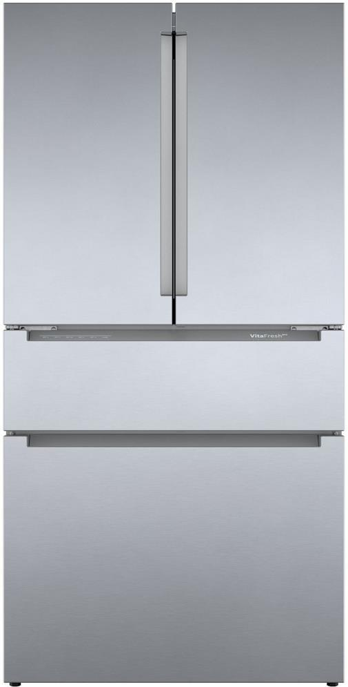 "Bosch 800 Series 36"" VitaFreshPro 21cu.Ft French Door Refrigerator B36CL80ENS - ALSurplus AL"