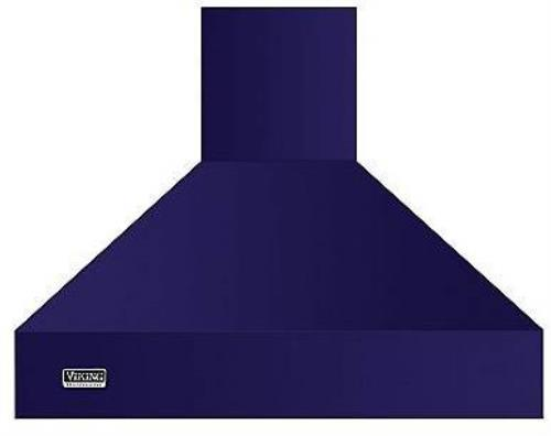 Viking 5 Series 60 Inch Cobalt Blue Wall Mount Chimney Range Hood VCWH56048CB - ALSurplus AL