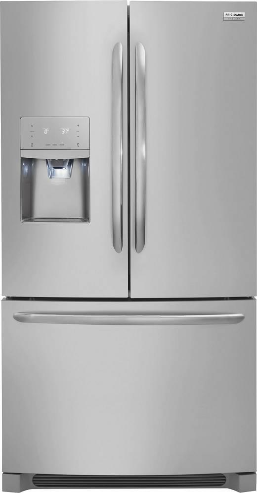 "Frigidaire Gallery Series 36"" Counter Depth French Door Refrigerator FGHD2368TF - ALSurplus AL"