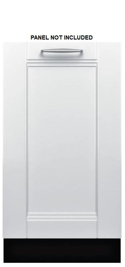 "Bosch 800 Series 18"" SS InfoLight 44 dbA Fully integrated Dishwasher SPV68U53UC - ALSurplus AL"