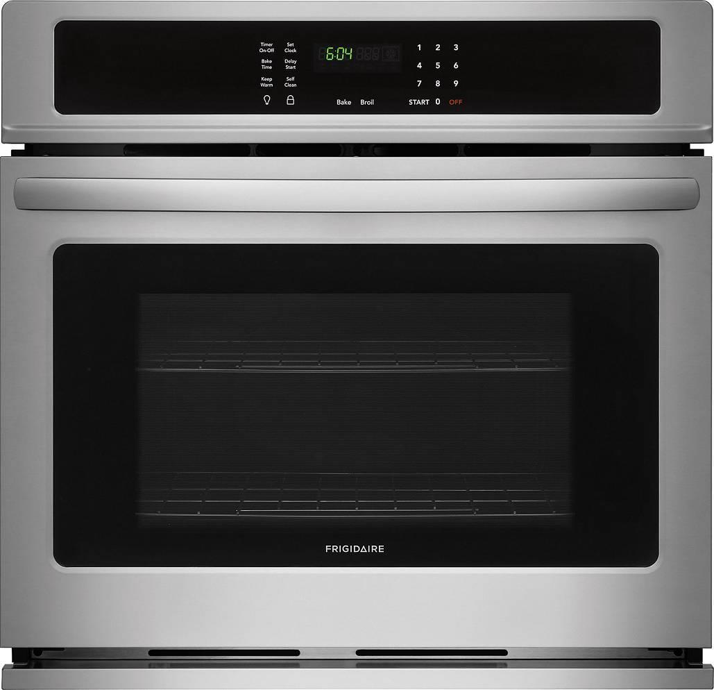 Frigidaire 27 inch 3.8 cuft Vari-Broil Single Electric Wall Oven FFEW2726TS - ALSurplus AL