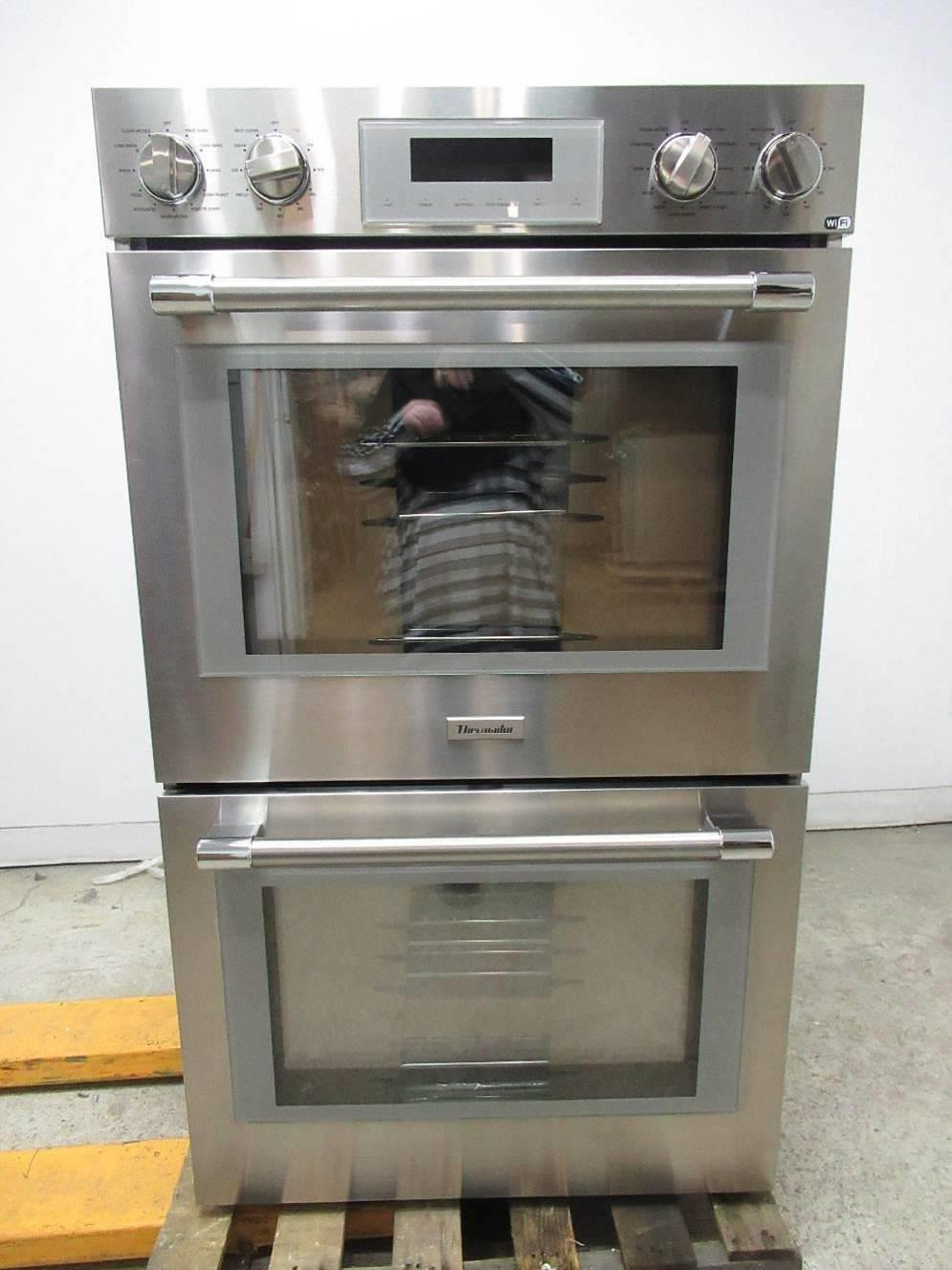 "Thermador Professional Series 30"" SS 16 modes Self-Clean Double Oven POD302W - ALSurplus AL"