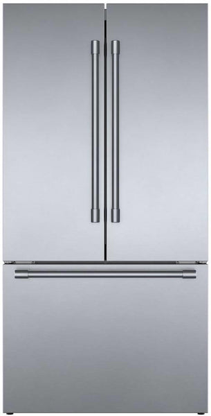 "NIB Bosch 800 Series 36"" Counter Depth French Door Refrigerator B36CT81SNS - ALSurplus AL"