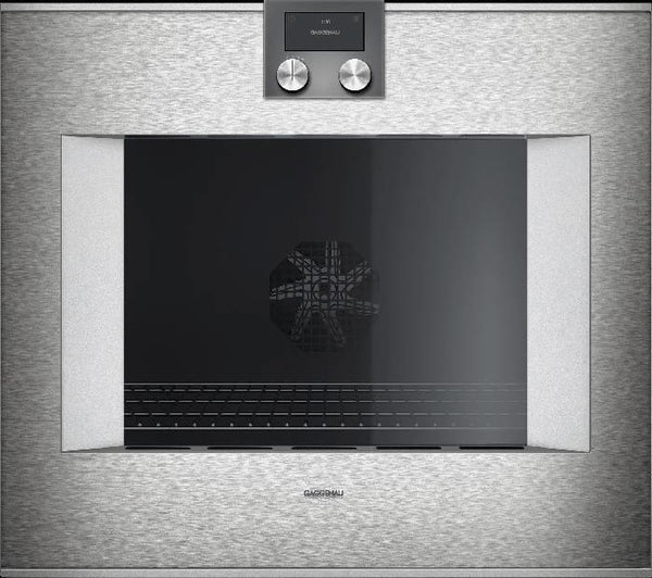 Gaggenau 400 Series 30 Inch SS Home Connect Smart Electric Wall Oven BO480613