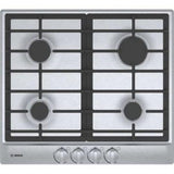 "Bosch 500 Series 24"" Stainless Push-to-Turn Knobs Gas Cooktop NGM5456UC - ALSurplus AL"