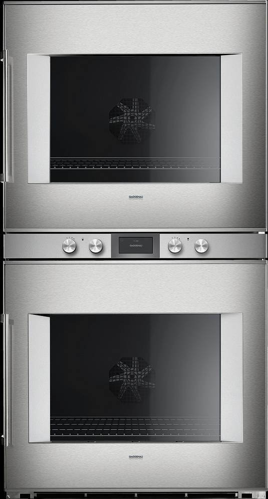"Gaggenau 400 Series 30"" TFT Touch Display Electric Double Wall Oven BX480612 - ALSurplus AL"