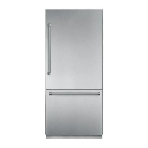 "NIB Thermador Freedom 30"" Stainless Bottom-Freezer Refrigerator T30BB820SS - ALSurplus AL"
