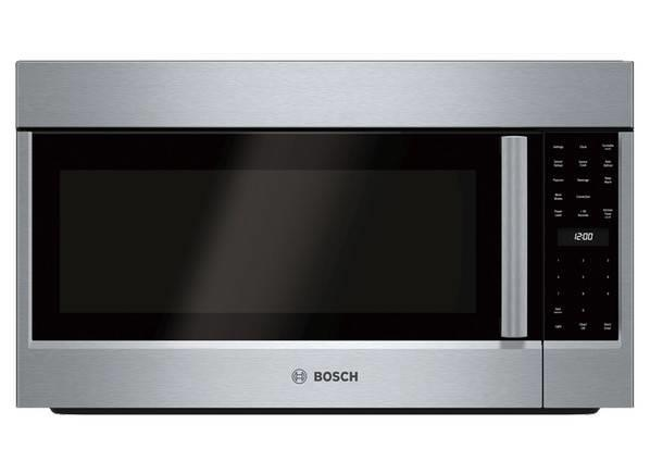 "Bosch 800 Series 30"" LED Over The Range SS Convection Microwave HMV8053U - ALSurplus AL"