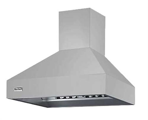 "Viking Professional 5 Series 48"" SS Wall Mount Chimney Range Hood VCWH54848SS"