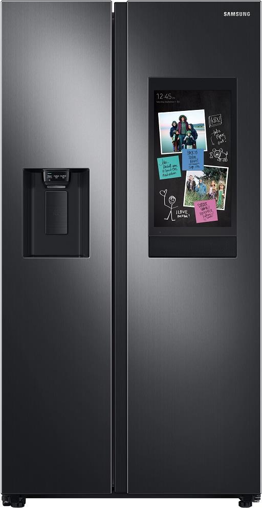 "Samsung RS27T5561SG 36"" Side by Side Refrigerator with Ice Maker Interior Camera - ALSurplus AL"