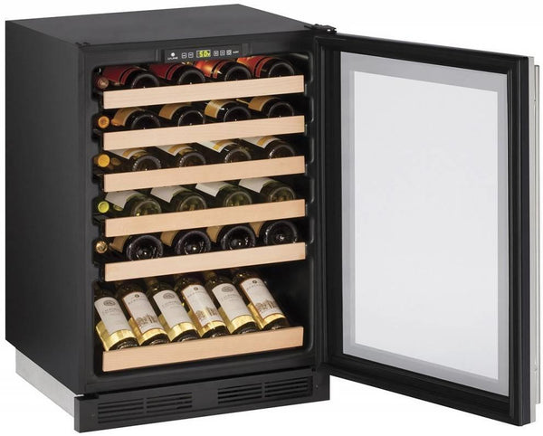 "U-Line Wine Captain 1000 Series 24"" Stainless Built-In Wine Storage U1224WCS00B - ALSurplus AL"