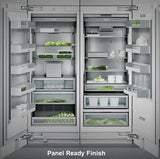 "Gaggenau 60"" Fully Integrated PR Refrigerator & Freezer RF471701 / RC472701 - ALSurplus AL"