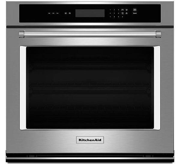 KitchenAid KOST107ESS 27 Inch Single Wall Oven Stainless Steel