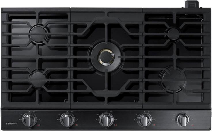 "Samsung NA36N7755TG 36"" Smart Gas Cooktop with Wi-Fi Connectivity & Bluetooth - ALSurplus AL"
