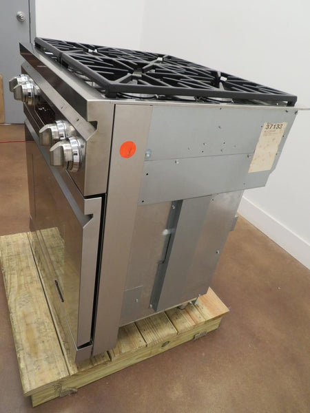 "DACOR Distinctive DR30DILP 30"" 4 Sealed Burners Pro-Style Slide-in Dual-Fuel Range - ALSurplus AL"