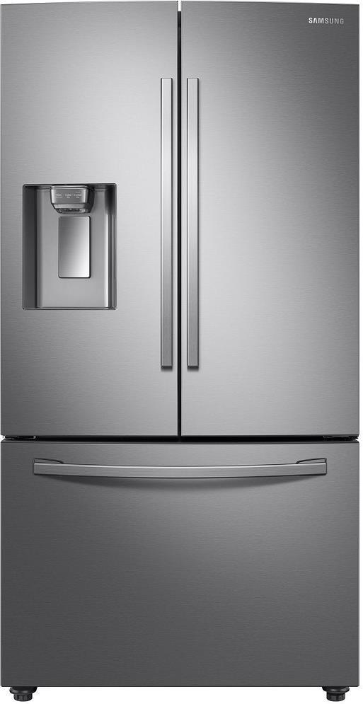 Samsung RF23R6201SR 36 Inches Counter Depth French Door Smart Refrigerator Pics - ALSurplus AL