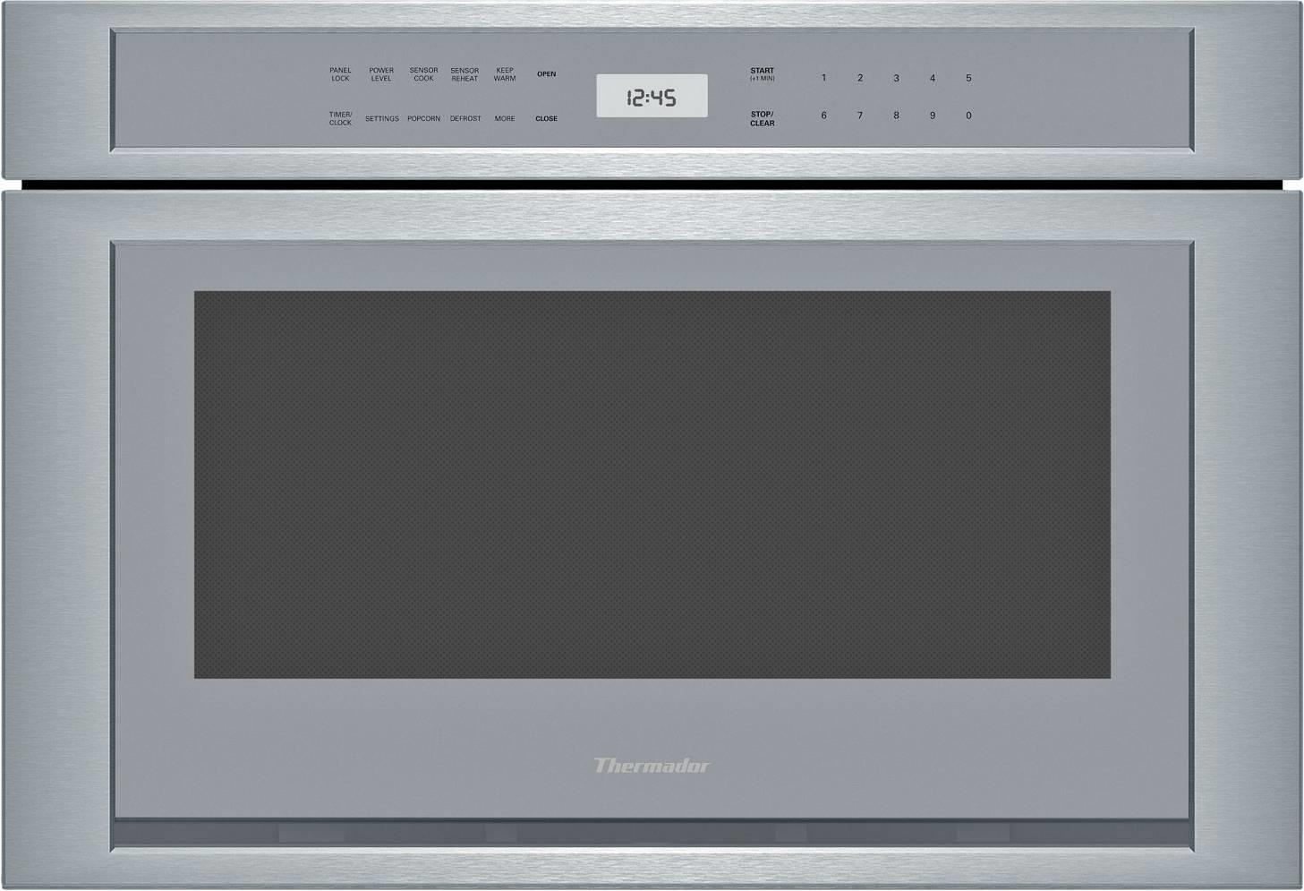 "Thermador Masterpiece Series 24"" 1.2 Cu.Ft. 1500 Watts Built In Microwave MD24WS - ALSurplus AL"
