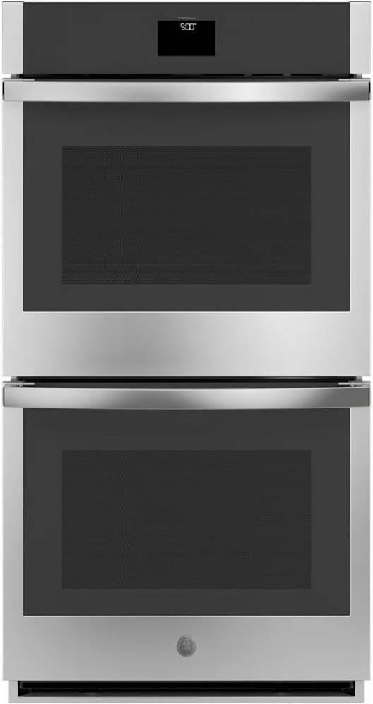GE 27 Inch 8.6 cu. ft SS Built-In Convection WiFi Double Wall Oven JKD5000SNSS - ALSurplus AL