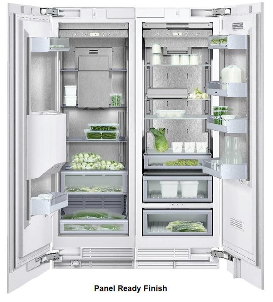 "NIB Gaggenau 48"" Panel Ready Refrigerator & Freezer Set RC462701 / RF463703 - ALSurplus AL"