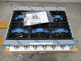 "Bosch 800 Series 36"" Stainless 6 Sealed Burners Gas Slide-In Cooktop RGM8658UC - ALSurplus AL"