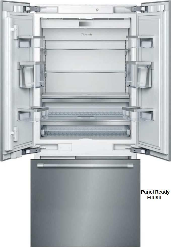 "Thermador Freedom  36"" 19.8 ThermaFresh French Door Refrigerator T36IT900NP - ALSurplus AL"