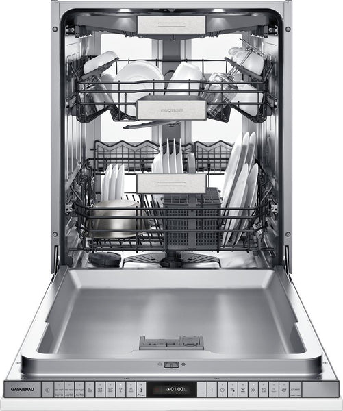 "Gaggenau 400 Series DF480763 24"" Fully Integrated Smart Dishwasher Pictures - ALSurplus AL"