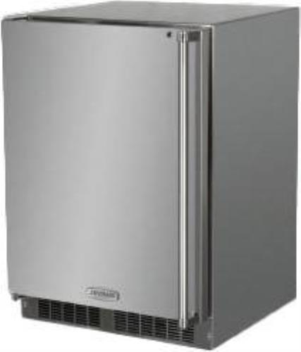 "Marvel Outdoor Series 24"" Stainless Built-in Outdoor Refrigerator MO24RAS1LS - ALSurplus AL"