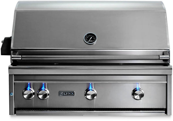 "Lynx Professional Grill Series 36"" 935 Cooking Surface Built-In Grill L36R3NG - ALSurplus AL"