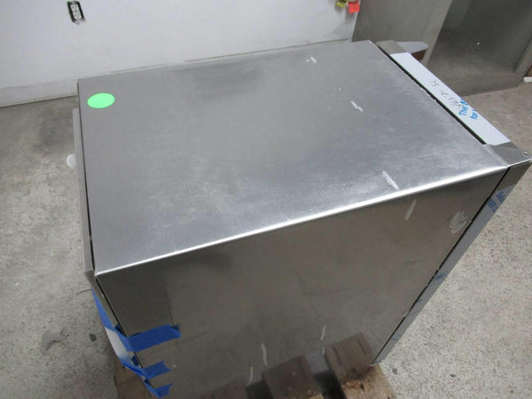 "Marvel 15"" Stainless Clear Ice Eco Ice mode Gravity Drain Machine MO15CLS2LS - ALSurplus AL"