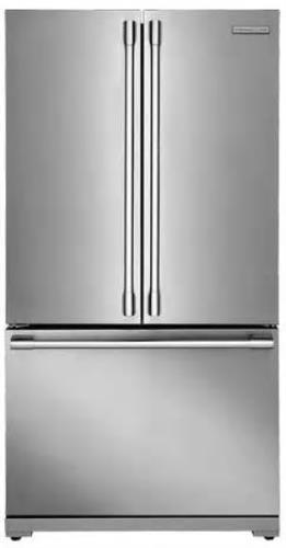 "Electrolux ICON Professional E23BC69SPS 36"" Counter Depth French D. Refrigerator"