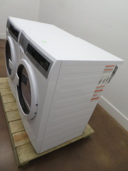 "Electrolux 24"" Steam Washer EFLS210TIW $ Ventless Electric Dryer EFDE210TIW Set - ALSurplus AL"