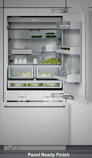 "Gaggenau 36"" LED Sidewall Pillars Fully Integrated PR Refrigerator RB492701"