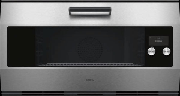 Gaggenau 36 Inch 3.6 Cu. Ft WiFi Electric Stainless Smart Wall Oven EB333611 - ALSurplus AL