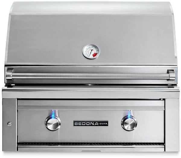 "Lynx Sedona Series 30"" 733 sq.in Built-in Natural Gas Stainless Grill L500NG - ALSurplus AL"
