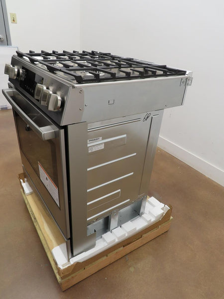 "Bosch 30"" Slide-In Gas Range Convection Technology HGI8056UC Perfect Condition - ALSurplus AL"