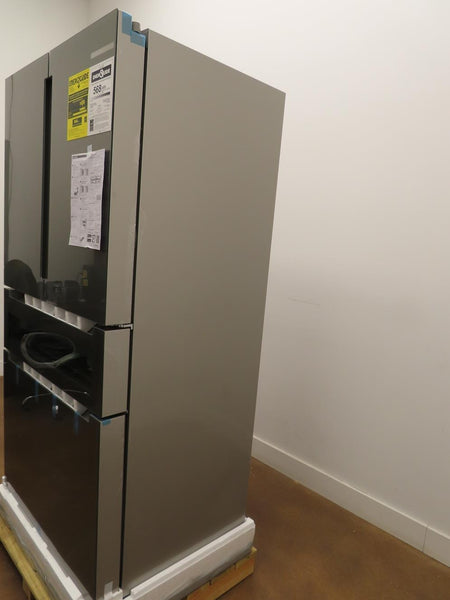 "Bosch 800 Series B36CL81ENG 36"" Freestanding 4 French Door Smart Refrigerator - ALSurplus AL"