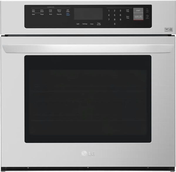 LG LWS3063ST 30 Inch Single Electric Wall Oven with Convection Perfect Front - ALSurplus AL