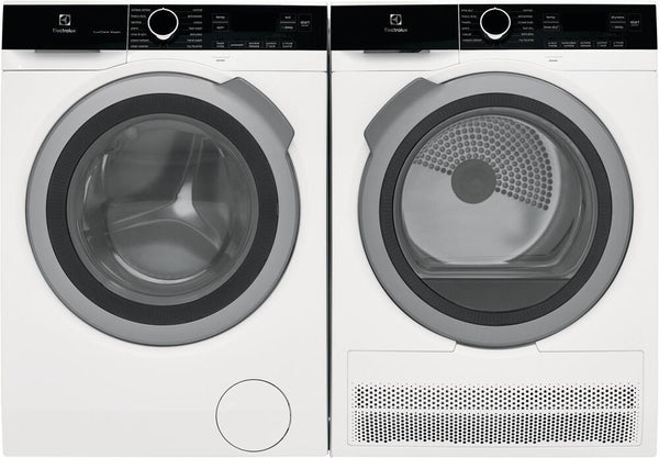"Electrolux ELFW4222AW 24"" White Washer & ELFE4222AW Ventless Electric Dyer Pics - ALSurplus AL"