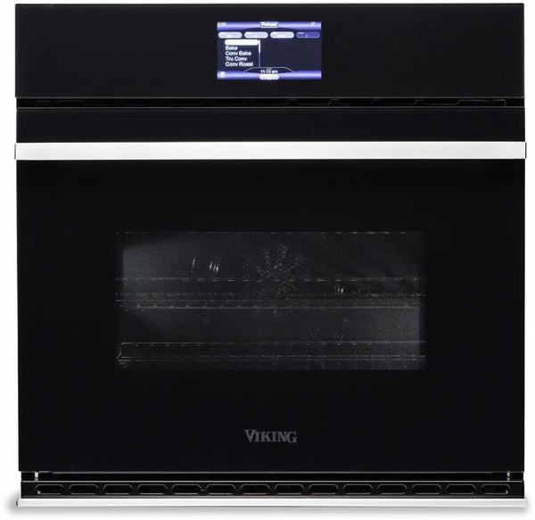 "Viking Virtuoso MVSOE630BG 30"" Single Thermal-Convection Oven Halogen Lighting"