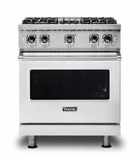 "Viking Professional 5 Series 30"" 4 Burners Gas Range VGR5304BSS 2017 Model"