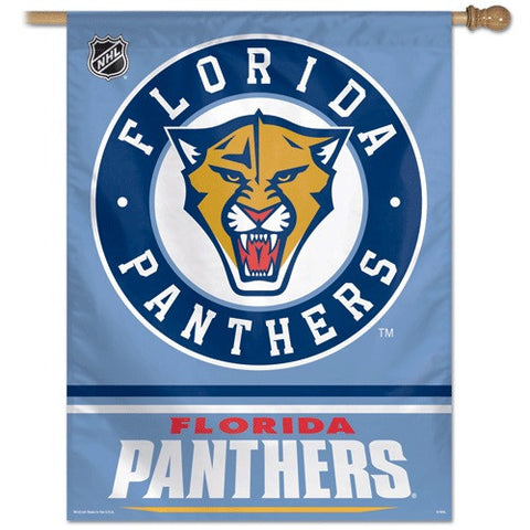 Florida Panthers Vertical Flag Banner