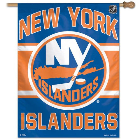 New York Islanders Vertical Flag Banner