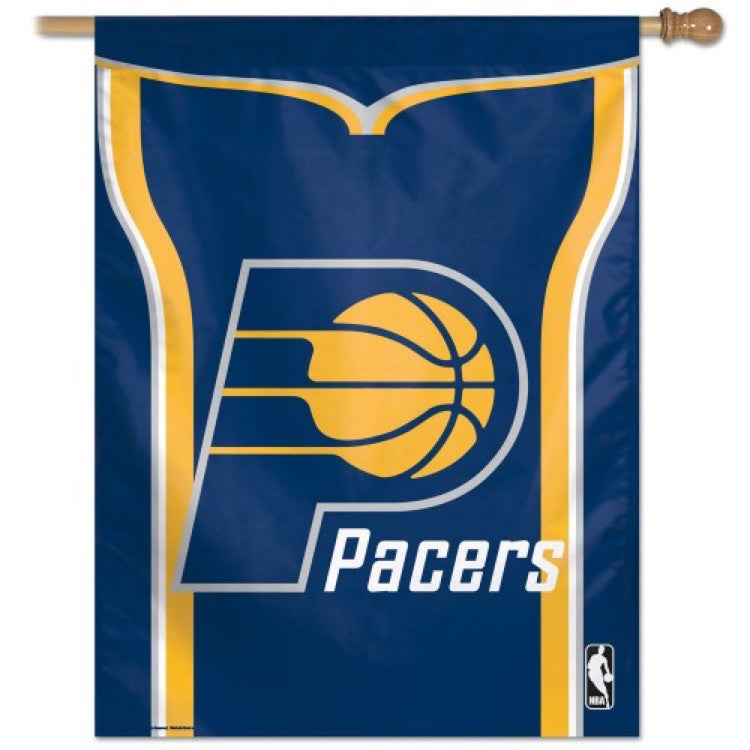 Indiana Pacers Vertical Flag Banner