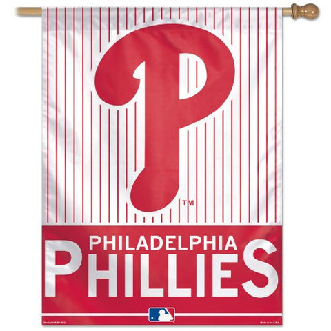Philadelphia Phillies Vertical Flag Banner