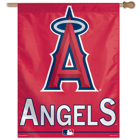 Anaheim Angels Vertical Flag Banner