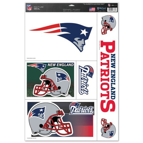 New England Patriots Decals Window Clings