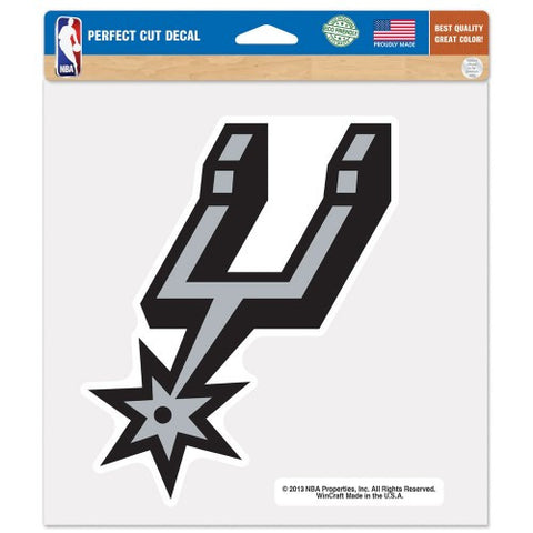 San Antonio Spurs Full Color Car Window Sticker Decal 8x8 Inches