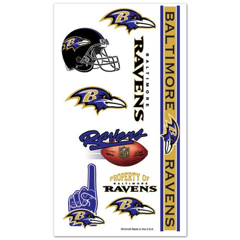 Baltimore Ravens Temporary Tattoo