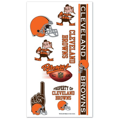 Cleveland Browns Temporary Tattoo