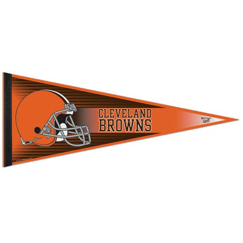 Cleveland Browns Pennant NFL Football Full Size